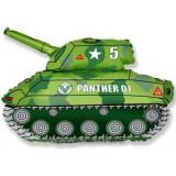 """Фигура 31"""" Танк (зеленый)"""