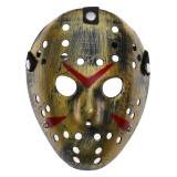 "Карнавальная маска ""Пятница"", Темно-золотая"