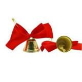 Колокольчик для выпуск. с красным бантом и булав.